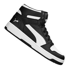 Negru Pantofi Puma Rebound LayUp Sneakers Jr 370486 01