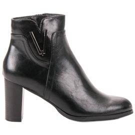 Vinceza Cizme negre negru