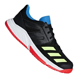 Pantofi Adidas Essence 406 M BD7406 negru, multicolor negru