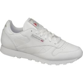 Pantofi Reebok Classic din piele W 2232 alb