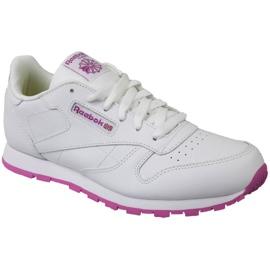 Pantofi Reebok Classic din piele Jr BS8044 alb