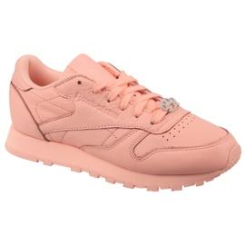 Pantofi Reebok Classic din piele W BS7912 roz