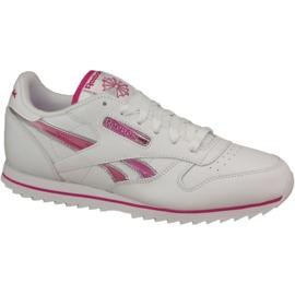 Pantofi Reebok Cl Lthr Ripple Iii Jr V59227 alb