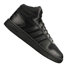Negru Pantofi Adidas Hoops 2.0 Mid M B44649