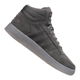 Gri Pantofi Adidas Hoops 2.0 Mid M B44635