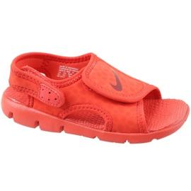 Roșu Sandale Nike Sunray Adjust 4 Ps Jr 386518-603