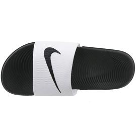 Papuci Nike Kawa Slide Gs / Ps 819352-100 alb