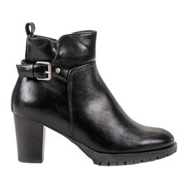 Vinceza Cizme elegante de toamnă negru