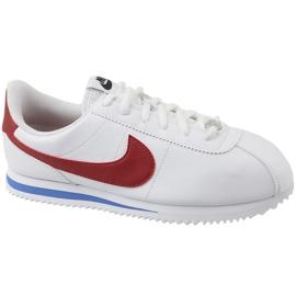 Pantofi Nike Cortez Basic Sl Gs Jr 904764-103 alb