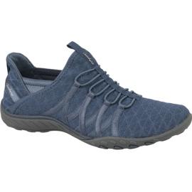Pantofi Skechers Breathe Easy W 23048-SLT albastru