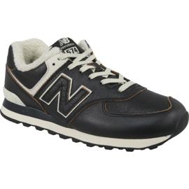 Pantofi New Balance M ML574WNE maro