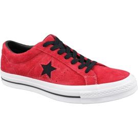Pantofi Converse One Star M 163246C roșu