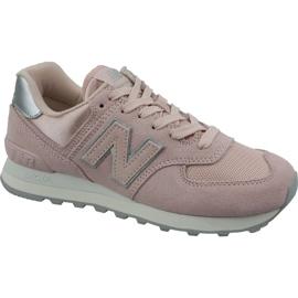 Încălțăminte New Balance în WL574OPS roz