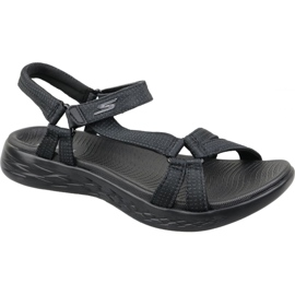 Skechers On The Go 600 W 15316-BBK negru