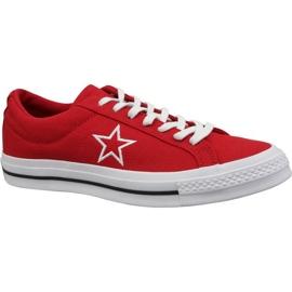 Pantofi Converse One Star Ox M 163378C roșu