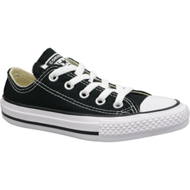 Pantofi Converse C. Taylor All Star Youth Ox Jr 3J235C negru