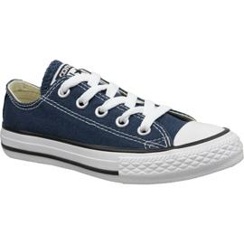 Pantofi Converse C. Taylor All Star Youth Ox Jr 3J237C bleumarin