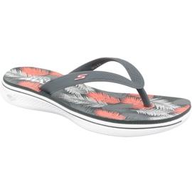 Multicolor Flip-flops Skechers H2 Goga W 14680-CCCL