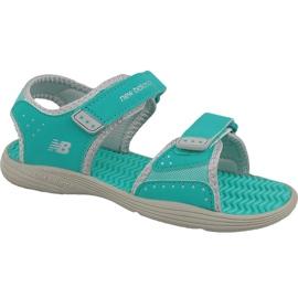 Verde Sandale New Balance Jr K2004GRG albastru