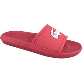 Roșu Pantofi Lacoste Croco Slide 119 1 M 737CMA001817K