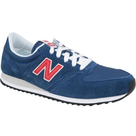 Pantofi New Balance M U420MTR albastru bleumarin