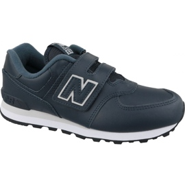 Pantofi New Balance YV574ERV Jr albastru bleumarin