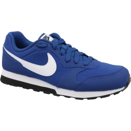 Pantofi Nike Md Runner 2 Gs Jr 807316-411 albastru