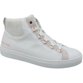 Pantofi Skechers Side Street Core-Set Hi W 73581-WHT alb
