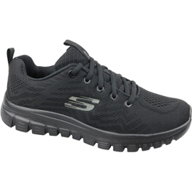 Pantofi Skechers Graceful Get Connected W 12615-BBK negru