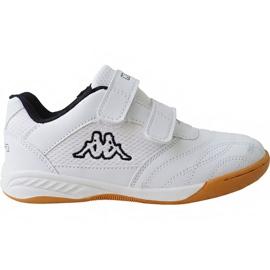 Pantofi Kappa Kickoff Jr 260509K 1011 alb
