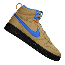 Pantofi Nike Court Borough Mid Boot 2 (GS) Jr BQ5440-701 galben