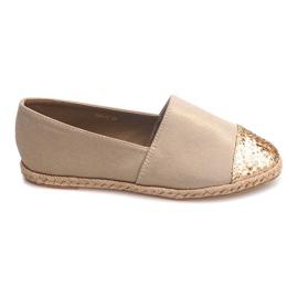 Pantofi de lenjerie Espadrilles 761-1 Kaki