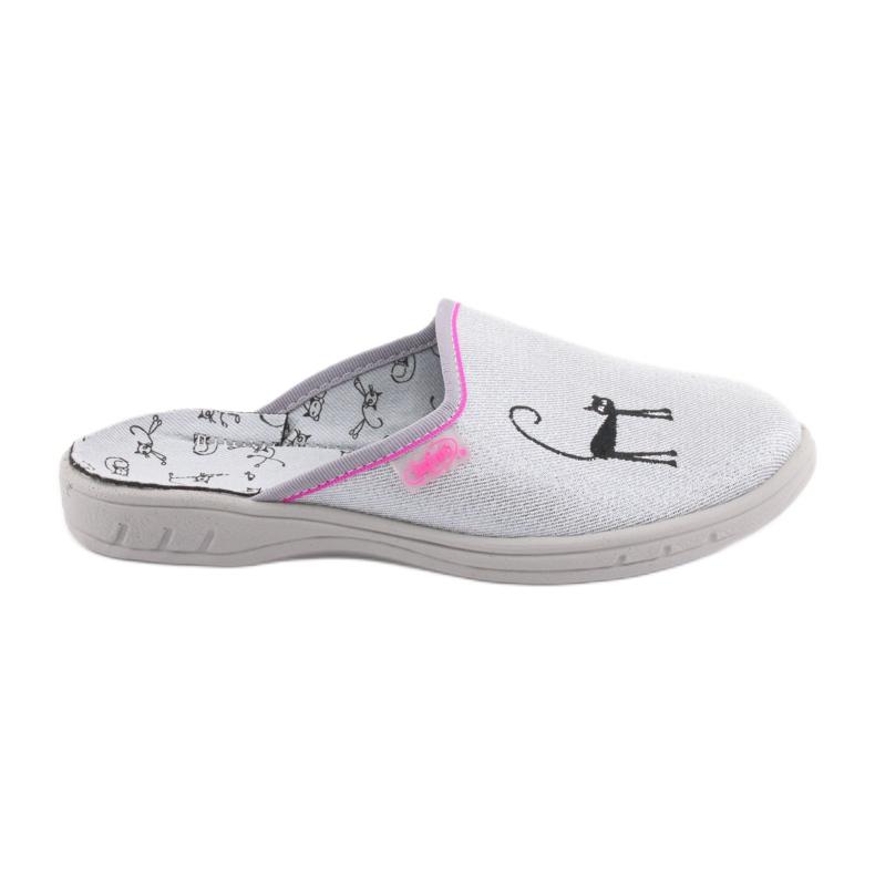 Papuci Befado pantofi copii 707Y398 gri