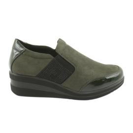 Pantofi cu fustă Sergio Leone 225 măsline