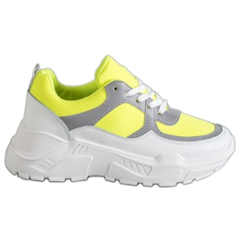 Ideal Shoes Încălțăminte sport neon