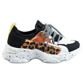 SHELOVET Pantofi sport cu print Leopard