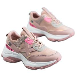 SHELOVET Pantofi de sport la modă roz