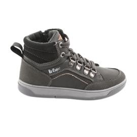 Pantofi sport Lee Cooper înalt 19-29-081 gri