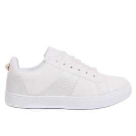 Adidași de damă White X93 White alb