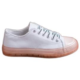 SHELOVET Pantofi pentru femei mici alb