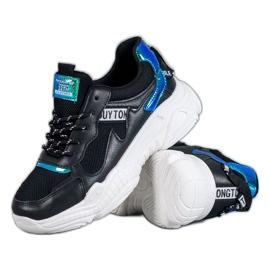 SHELOVET Pantofi sport confortabili negru