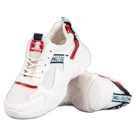 SHELOVET Pantofi sport confortabili maro