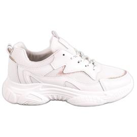SHELOVET Pantofi sport clasic maro
