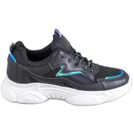 SHELOVET Pantofi sport clasic negru