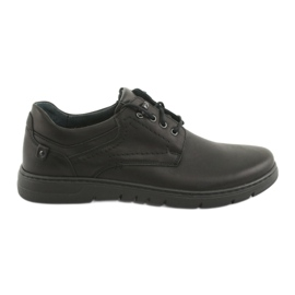 Negru Pantofi legați pentru bărbați Riko 902