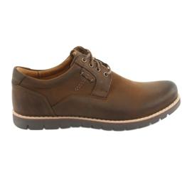 Pantofi dantela Riko 761 maro