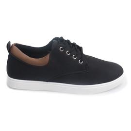 Pantofi casual pentru bărbați 655 negru