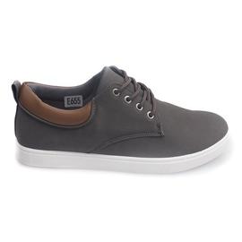 Pantofi casual pentru bărbați 655 gri