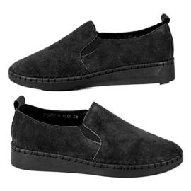 Filippo Pantofi din piele Slip On negru