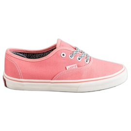 SHELOVET Adidași confortabili roz
